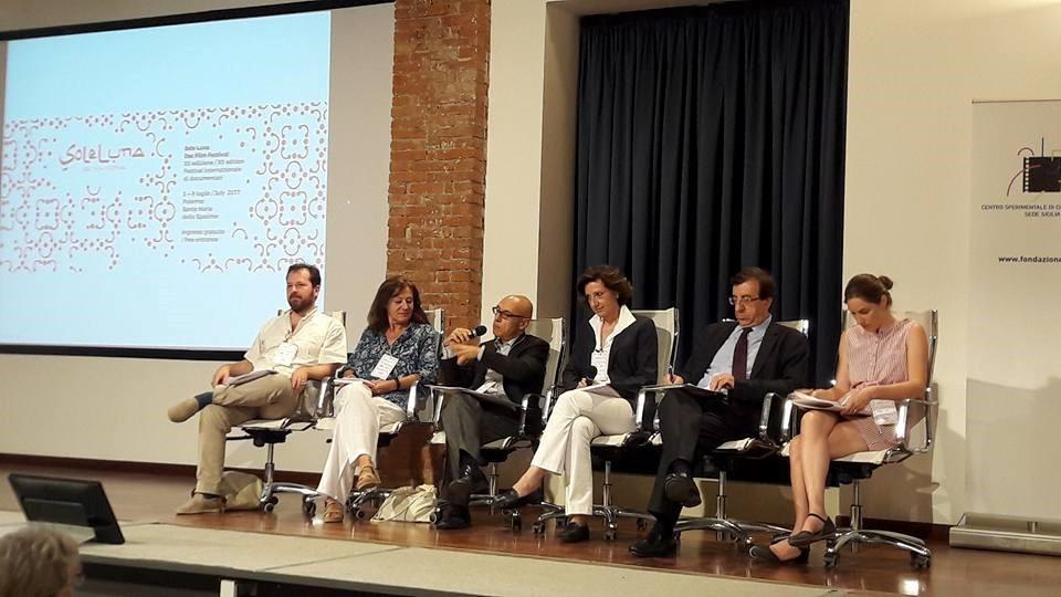 Picture of Conferenza stampa di presentazione del Sole Luna Doc Film Festival (Palermo, 3-9 luglio 2017)