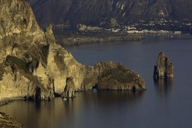 Caro diario (Eolie, LIPARI) panorama su Vulcano