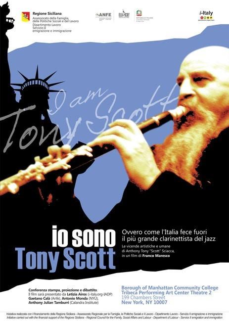 Immagine di Io sono Tony Scott, ovvero come l'Italia fece fuori il più grande clarinettista del jazz