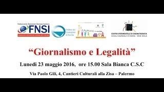 Giornalismo e Legalità