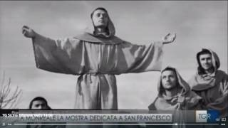 Francesco nel cinema - Servizio tg ore 14 del 24/1/17