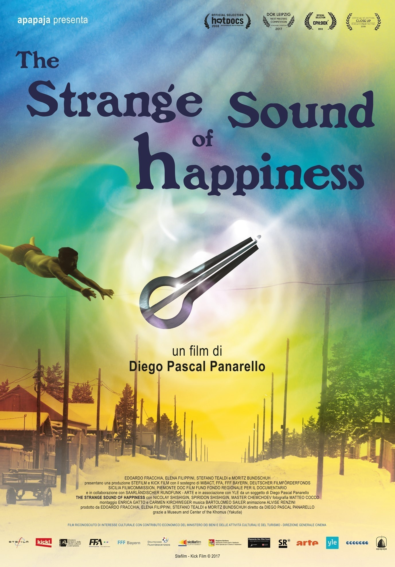 "Immagine di Prima proiezione di ""The Strange Sound of Happiness"" a Palermo"