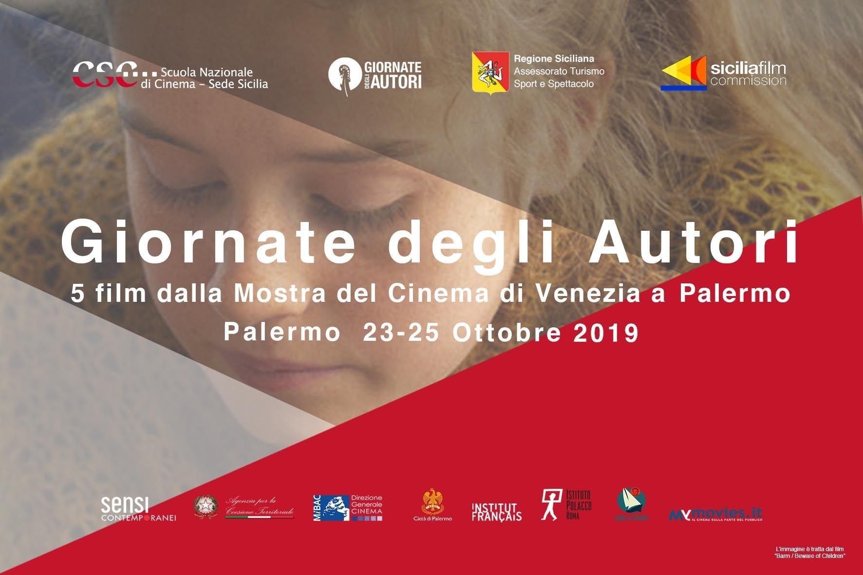Immagine di Giornate degli Autori: 5 film dalla Mostra del Cinema di Venezia a Palermo